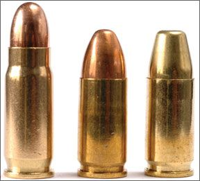 pistol ammunition