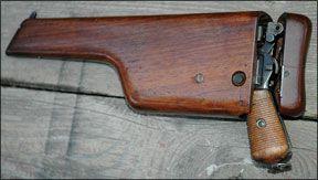 Mauser broomhandle stock