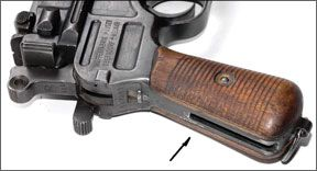 Mauser broomhandle grip