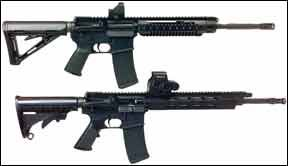 Ruger Essential and Adcor Elite rifles