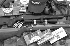 Two .300 Magnum Rifles
