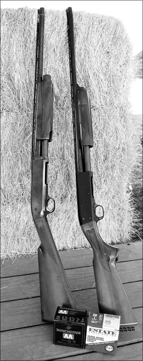 The Browning and Ithaca Shotguns