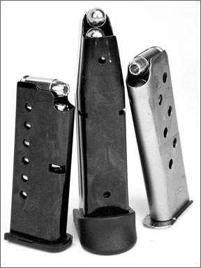small-caliber pistol magazines