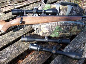ballistic-reticle riflescopes