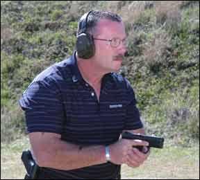 rapid fire pistol action tests