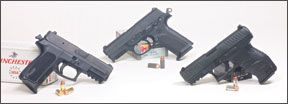 40 s and w polymer pistols