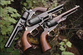 second generation colt revolvers