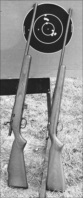 Bolt-Action 22-Caliber Rifle