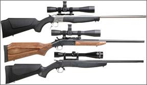 single shot 308 rifles