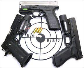 High-Capacity 40 S&W 'Rail' Guns