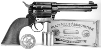 Rough Rider revolver with Black Hills ammo