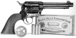 Rough Rider revolver with Black Hills ammo
