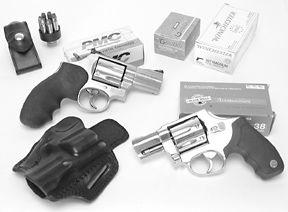 357 snub-nose revolvers