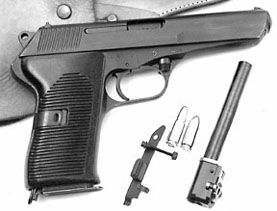 CZ-52 pistol
