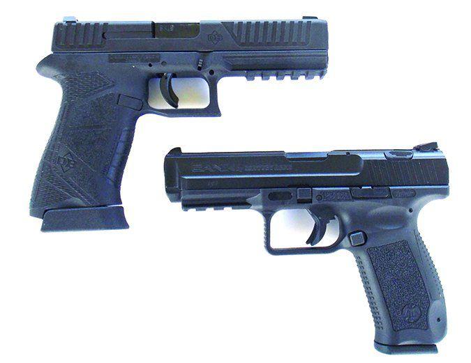 Diamondback and Century Arms handguns