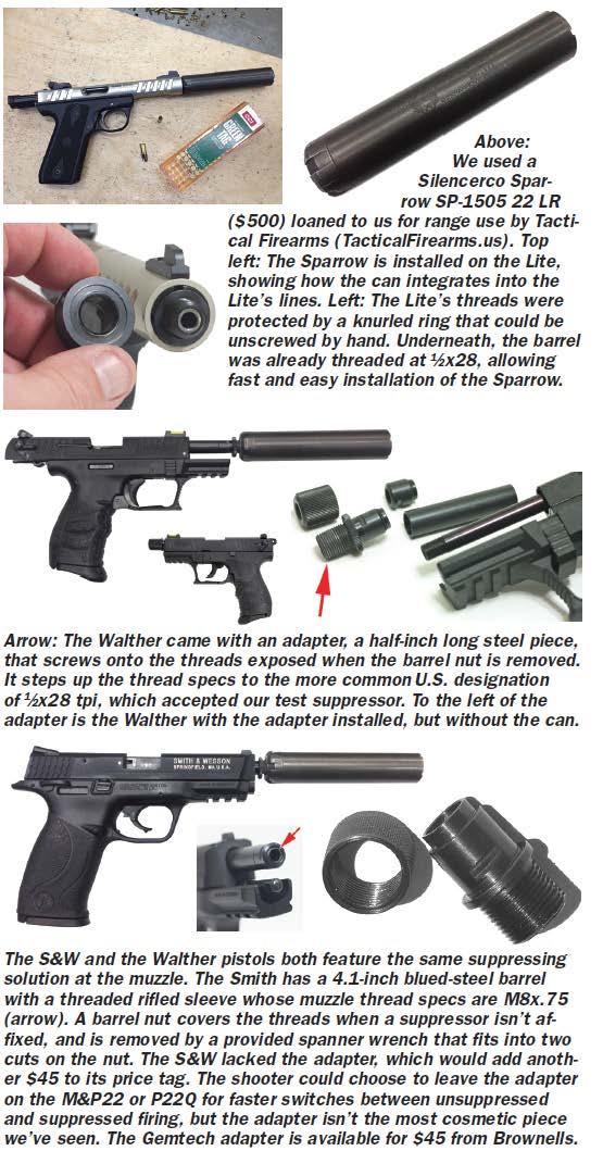 suppressor pistols