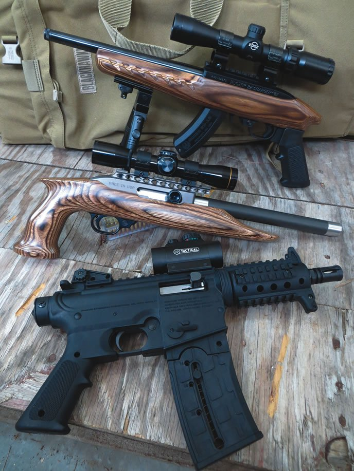 22 lr pistols engineered from rimfire rifles