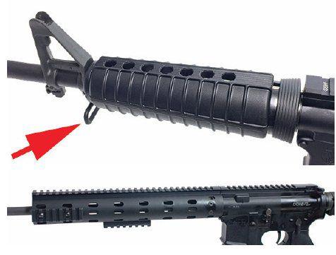 lightweight AR rifle