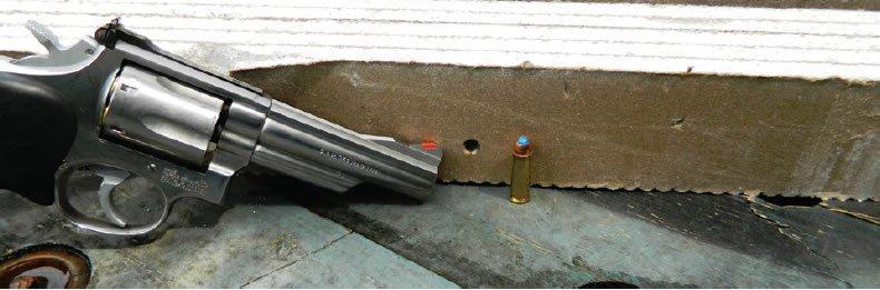 how do handgun bullets penetrate walls