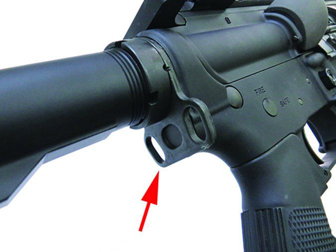 Stag Arms 9T ambidextrous sling-attachment brackets