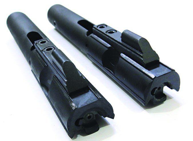 Tresna Defense JAG9G BU flash hider with thread muzzles
