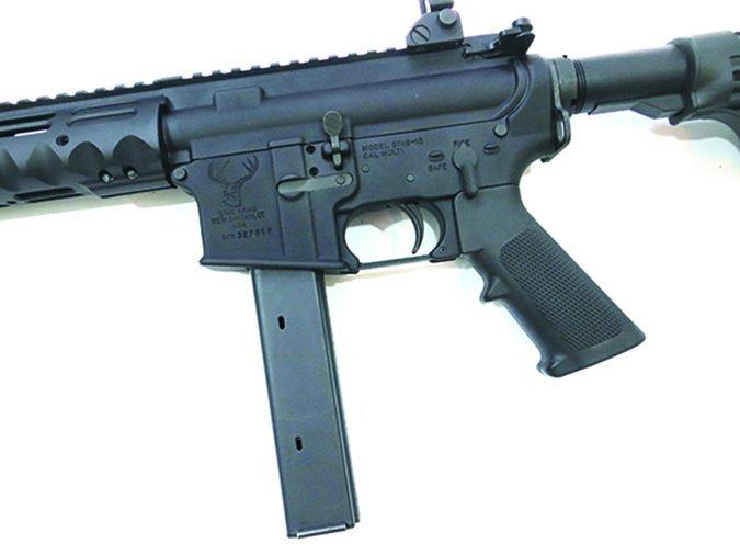 9mm automatic rifle double-column magazine