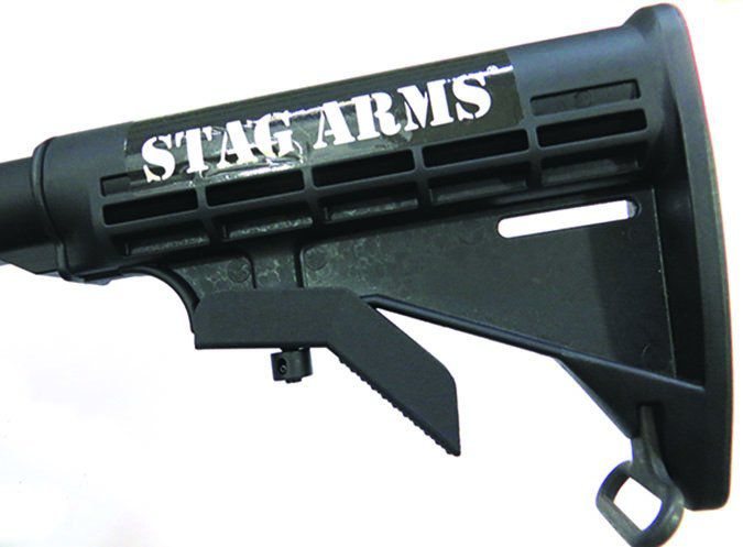 Stag Arms M4 style buttstock