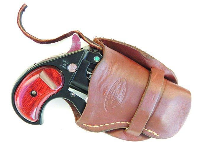 Cobra derringer with holster