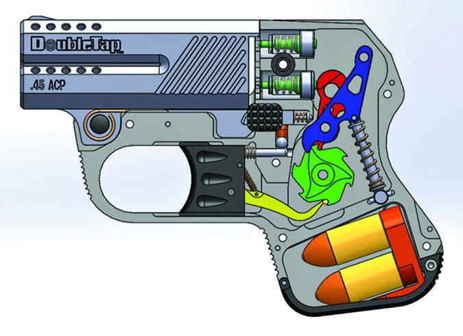 DoubleTap mechanical schematic