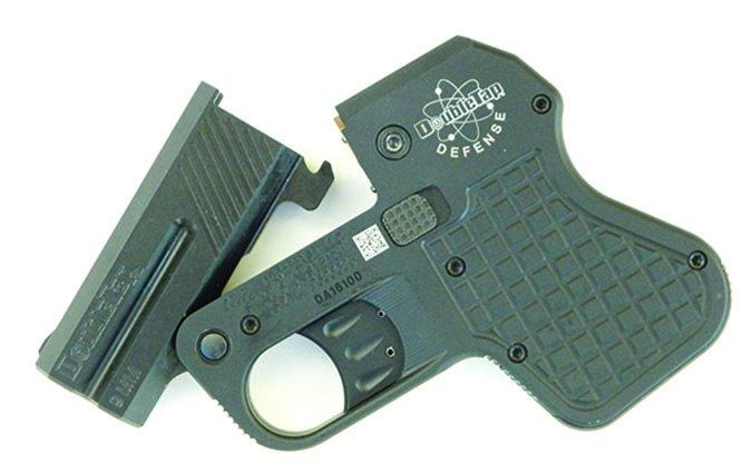 DoubleTap Defense Tactical Derringer open barrel