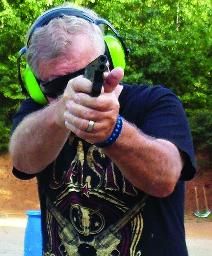 DoubleTap Defense Tactical Derringer firing