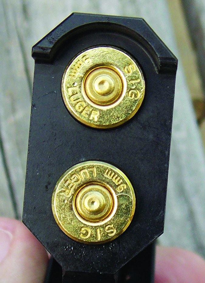 DoubleTap Defense Tactical Derringer with SIG Sauer Elite ammo