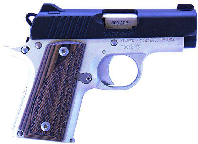 Kimber Micro Carry Advocate 380 ACP