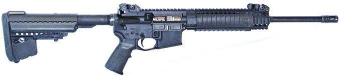 LWRCI M6A2 Gas Piston Carbine M6A2R6B16 6.8 SPC rifle