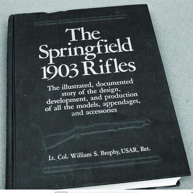 Lieutenant Colonel William S. Brophy Springfield 1903 Rifles