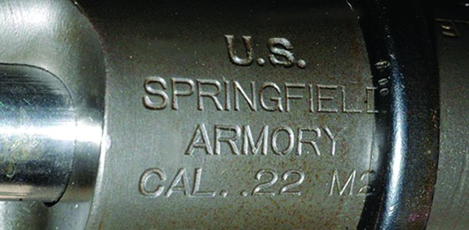 Springfield Armory .22 caliber logo