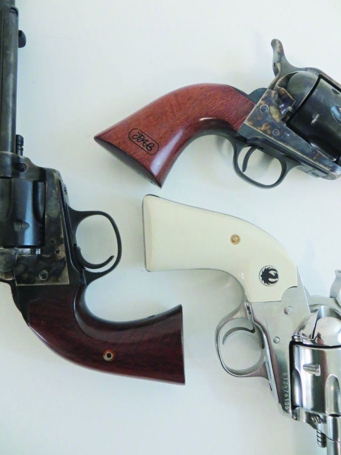Bisley revolvers