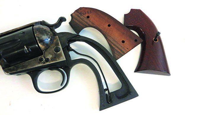 Uberti Cattleman Bisley revolver flat mainspring