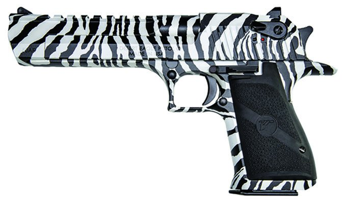 Magnum Research Desert Eagle zebra print