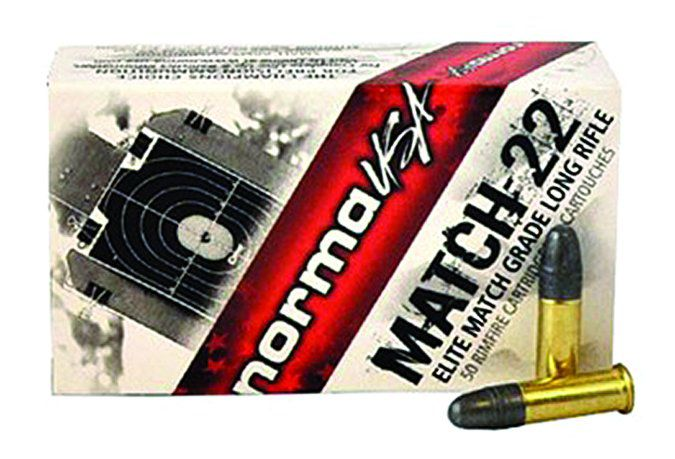 Match 22 firearm cartridges