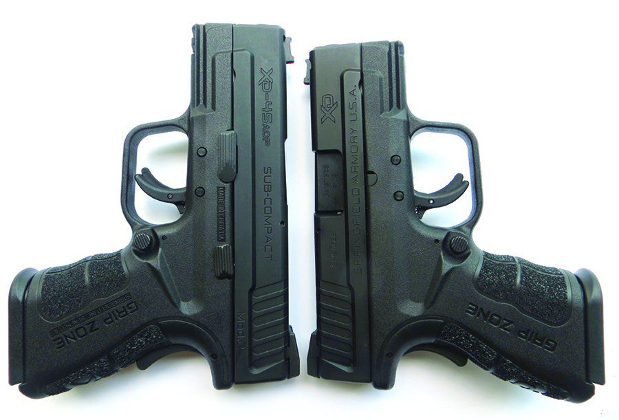 Springfield Armory 9mm XD and 45 ACP