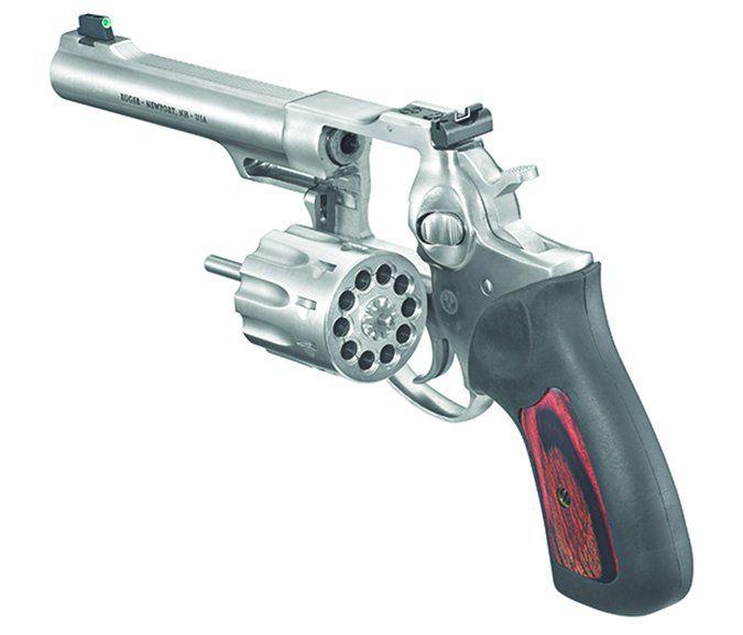 Ruger GP100 ten-round revolver