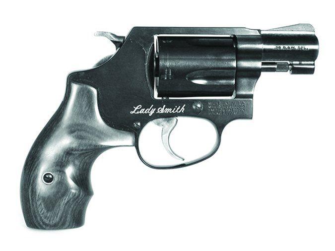 S&W Lady Smith snubnose revolver