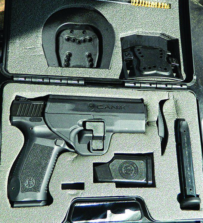 Century Arms handgun accessories package