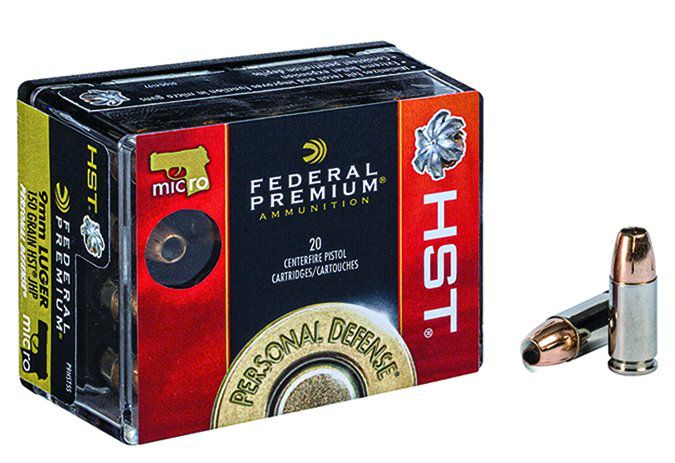 Federal's Micro HST 9mm Luger