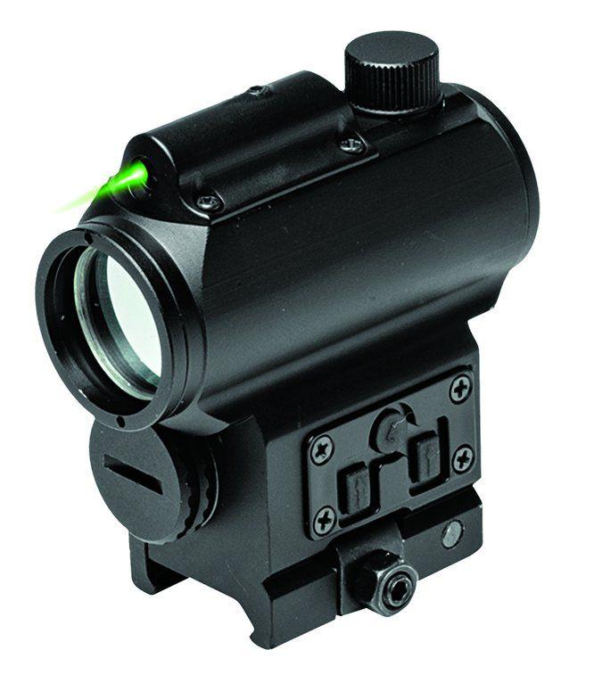 NcSTAR VISM Reflex Sight with Green Laser