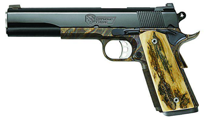 Republic Forge Model 1911 Pistol Color-Case-Hardened Finish