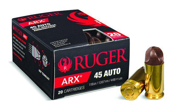PolyCase Ruger ARX 118-grain 45 Auto