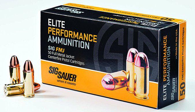 SIG Sauer Elite Performance 38 Special FMJ