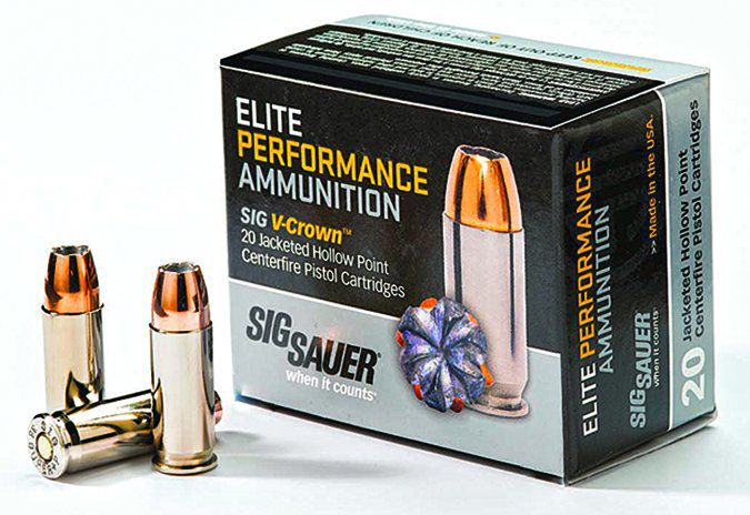 Elite Performance 38 Special V-Crown jacketed hollowpoint